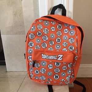 Other - Dragon Ball Z Backpack  NWT Orange